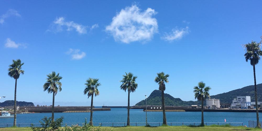 宮崎の空と海